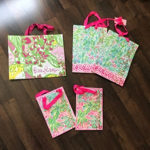 Lilly Pulitzer Shopping Bags assorted